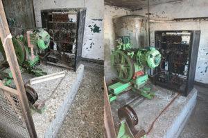avant et après le nettoyage de fientes de pigeons et la désinfection de déjections de pigeons